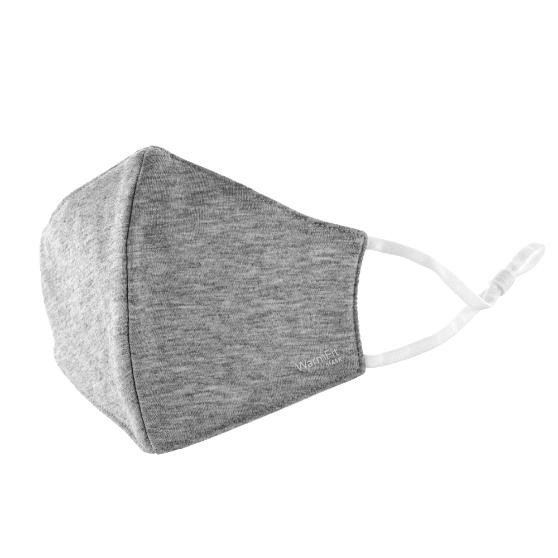 不織布マスク/洗える抗菌マスク「WarmFit MASK(ウォームフィットマスク)」/1枚入/小さめサイズ/グレー