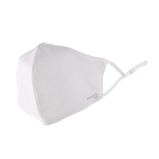 不織布マスク/洗える抗菌マスク「WarmFit MASK(ウォームフィットマスク)」/1枚入/小さめサイズ/ホワイト